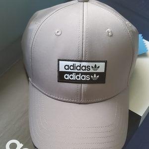 Adidas Mens Baseball Hat OSFM Grey
